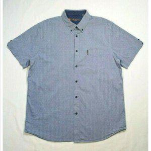 BEN SHERMAN Men Casual Button Down Shirt 3239E1